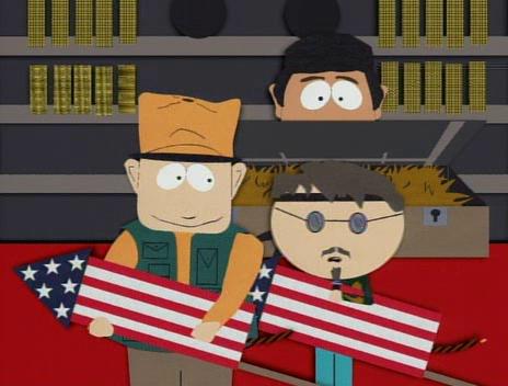 South Park- fireworks