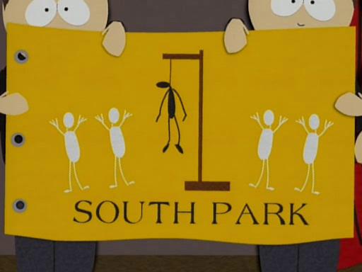 South Park- flag