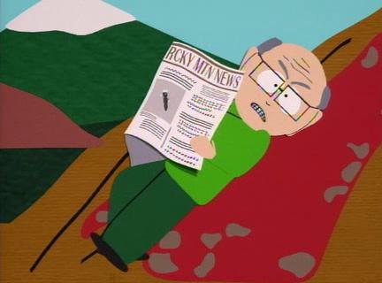 South Park- Garrison sleeping