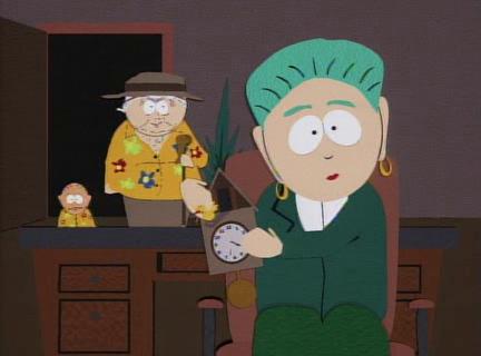 South Park- Mayor 1