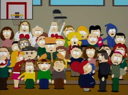 South Park- public upheaval