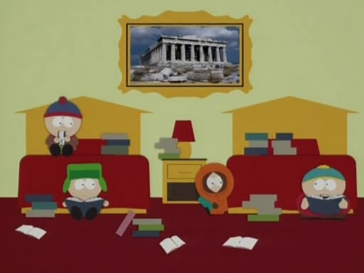 South Park- queef research